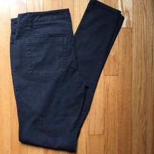 Theory Charcoal Gray Skinny Jeans, 8